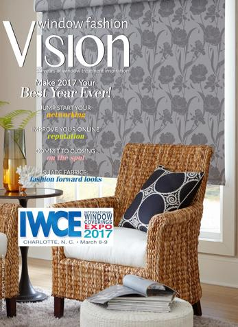Get Your Work in Print, Window Fashion Vision magazine, Jan/Feb 2017