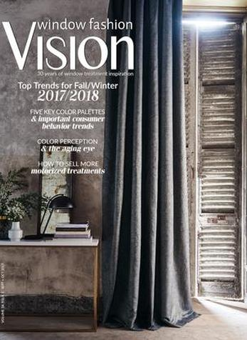 Social Media for Start-Ups, Window Fashion Vision Magazine, Sept/Oct 2017