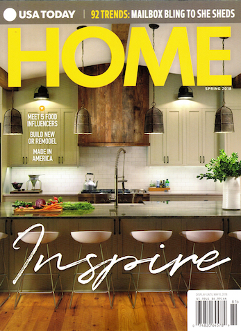 Design Dilemmas/Reimagine Your Rooms/Designer Tips, HOME USA Today, Spring 2018