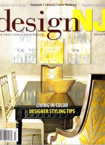 Color & Pattern, Design NJ, June/July 2018
