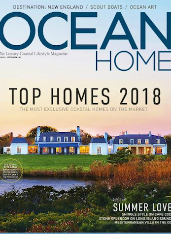 Coastal Bedroom Retreat, Ocean Home Magazine, Aug/Sept 2018