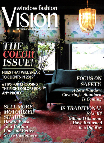 To Know You Is to Love You, Window Fashion Vision Magazine, Sept/Oct 2018