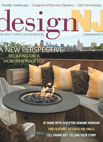Tips From A Pro - Choosing an Outdoor Fire Feature, Design New Jersey, Oct/Nov 2018