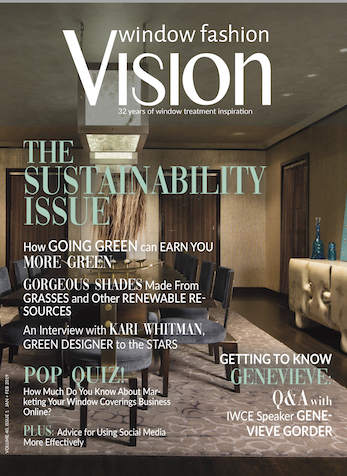 Get Friendly with Social Media, Window Fashion Vision Magazine, Jan/Feb 2019