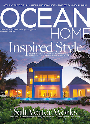 A Study In Nature, Ocean Home Magazine, December/January 2018