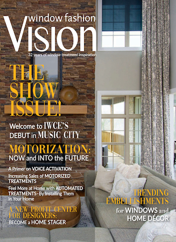 See Your Name in Print: How to Get Your Work Published, Window Fashion Vision Mag, March/April 2019