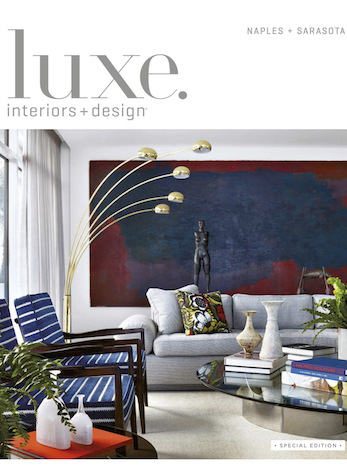 State of Serenity, Luxe interiors + design Naples/Sarasota, January/February 2019