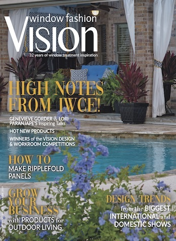 Color Your World, Window Fashion Vision Magazine, May/June 2019