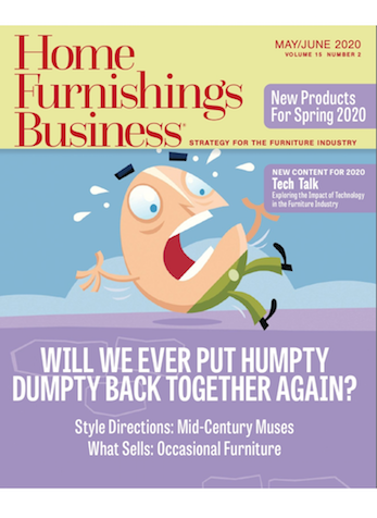 Cool Occasions, Home Furnishings Business Magazine, May/June 2020