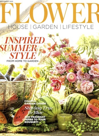 Sources Who Did It & Where to Get It, Flower Magazine, July-August 2020
