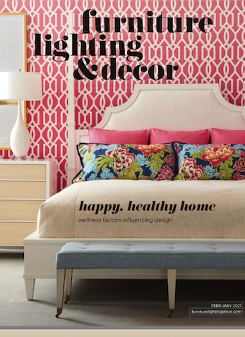 Happy, Healthy Home, Furniture Lighting & Decor, February 2021